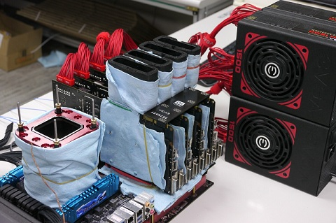 EVGA Overclocking Session