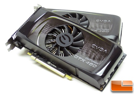 EVGA GeForce GTX 460 768MB SC SLI Video Card