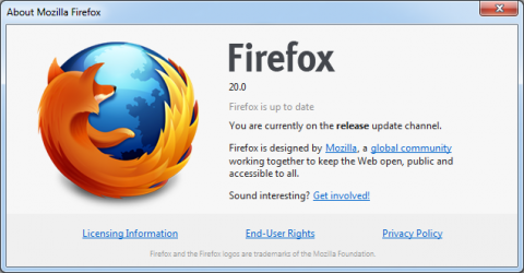FireFox 20 Browser