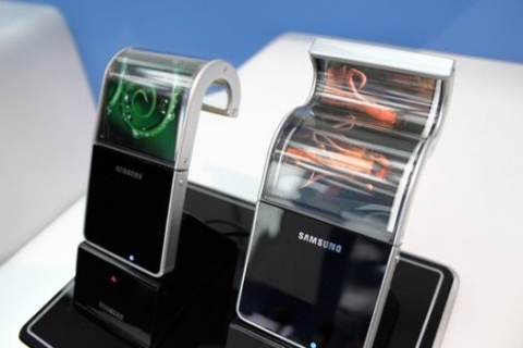 Samsung Flexible OLED Display