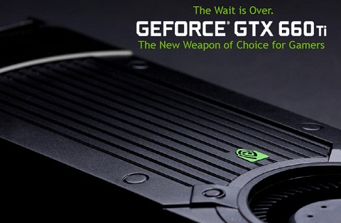 GNVIDIA GeForce GTX 660 Ti