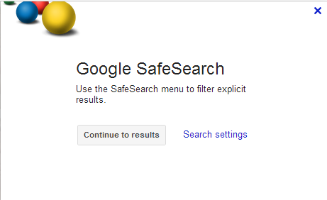 how to turn safesearch on google