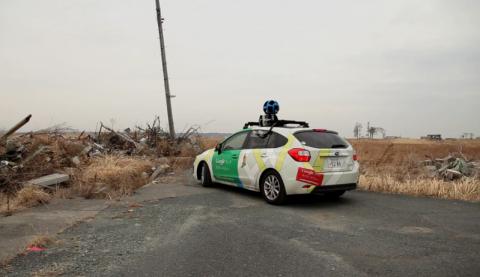 Google Mapping Fukushima Site