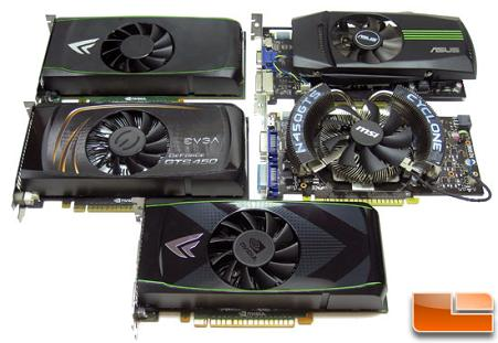 NVIDIA GeForce GTS 450 Video Cards