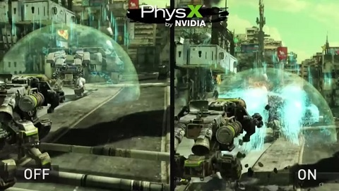 Hawken PhysX Game Demo