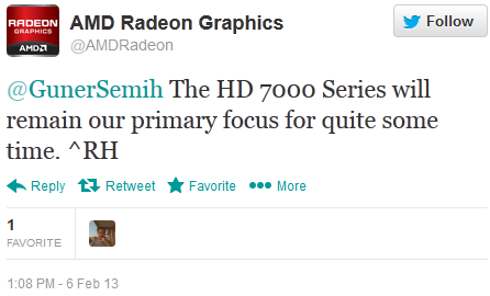 AMD Radeon HD 8000 GPU Delay