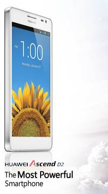 Huawei Ascend D2 smartphon