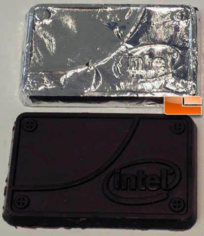 Intel Chocolate SSD From Storage Visions