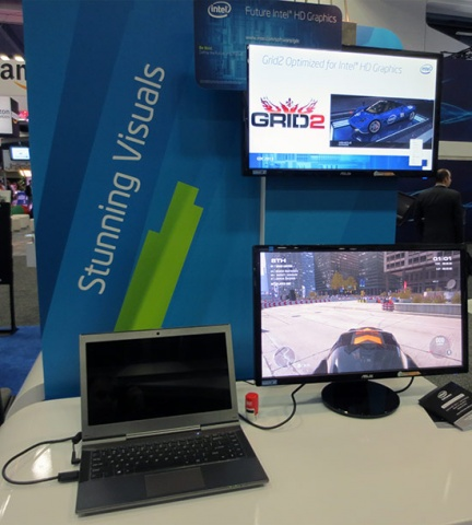 Intel Grid 2 Haswell Demo