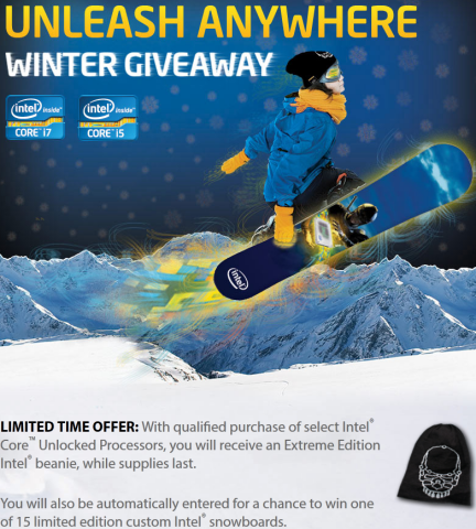 Intel Winter Giveaway