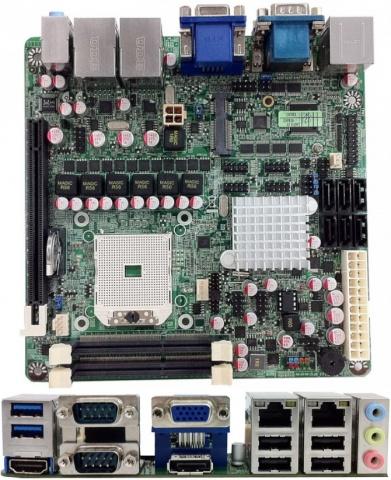 Jetway NF82 Mini-ITX Motherboard