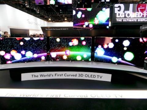 LG EA8900 Curved OLED TV