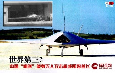 Lijian Stealth Drone