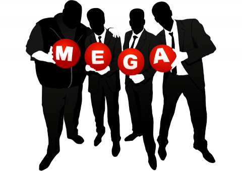 Mega about us logo
