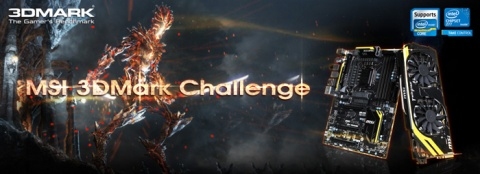 MSI 3DMark Challenge competition