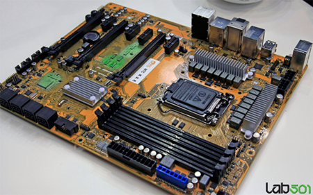 MSI Z87 Prototype Motherboard