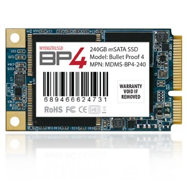 mydigitalssd BP4 mSATA SSD