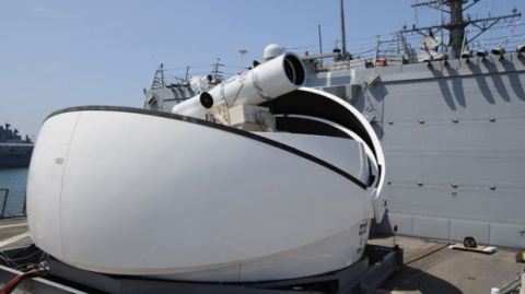 navy Laser Weapon System