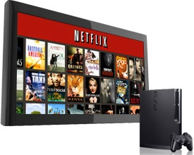 NetFlix with Sony PS3