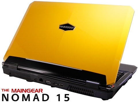 Maingear NOMAD 15 Gaming Laptop