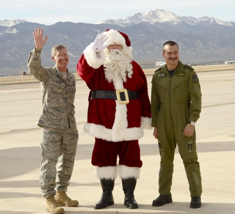 NORAD with Santa Claus
