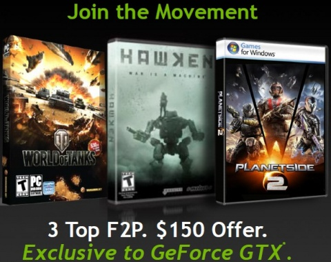 NVIDIA F2P Game Bundle