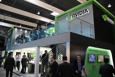 NVIDIA Mobile World Congress Booth