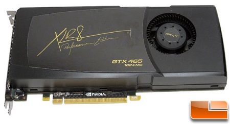 PNY GeForce GTX 465 XLR8 Video Card