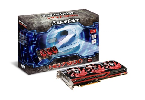 PowerColor HD7990 Video Card