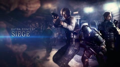 Resident Evil 6 Siege Mode