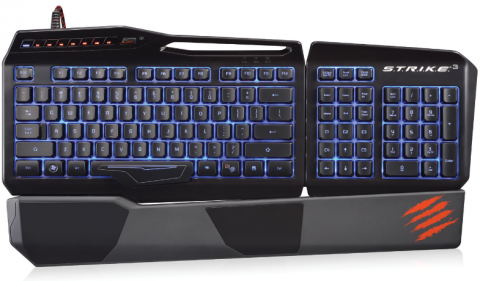 Mad Catz S.T.R.I.K.E. 3 Pro Gaming Keyboard