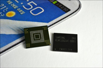 Samsung 64GB embedded multimedia card