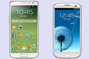 Samsung Galaxy 4 Leaked Image