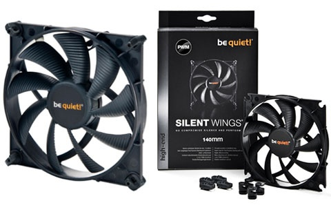 be quiet SilentWings 2 PWM 14mm Case Fan
