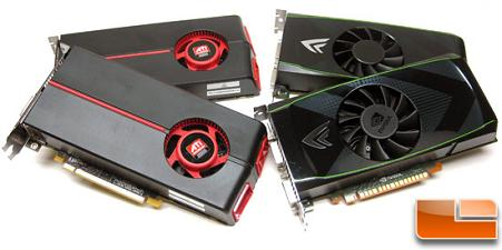 NVIDIA GeForce GTS 450 and ATI Radeon HD 5770 Video Cards