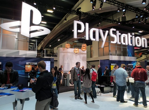 Sony GDC 2013 Booth