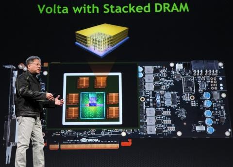 Volta Stacked DRAM