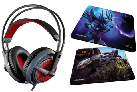 Steelseries And Valve Introduce Siberia V2 Dota 2 Gaming Headset Mouse Pads Legit Reviews
