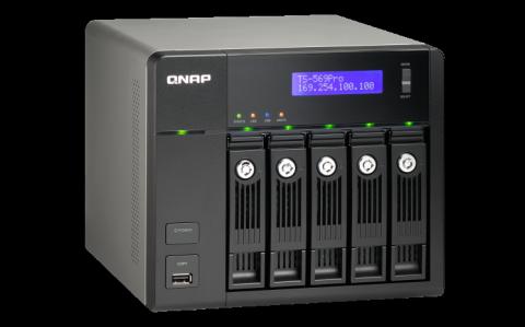 QNAP ts569 NAS Server