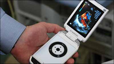 hand-held ultrasound device