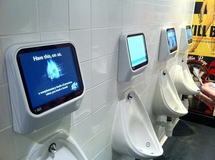 Urinal Video Games - Urine Controlled