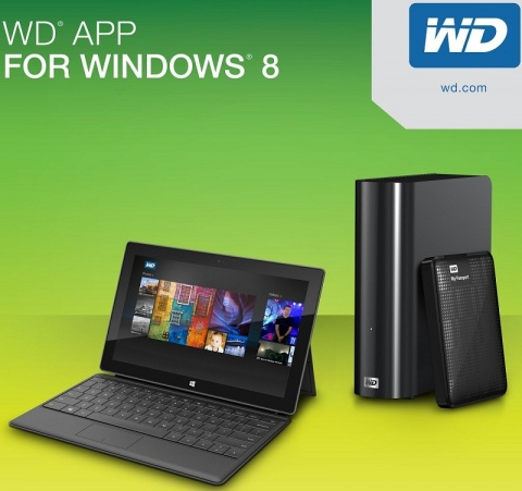 WD Windows 8 App