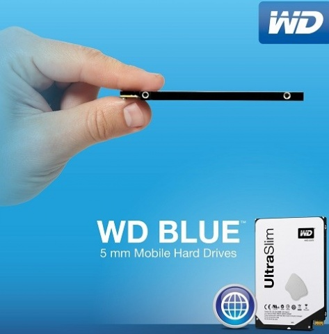 WD 5mm hard drive