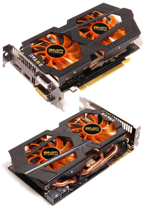 ZOTAC GeForce GTX 660 Ti AMP! Extreme Edition