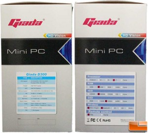 Giada D300 Box Sides