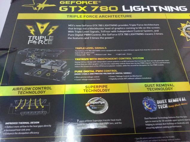 MSI GeForce GTX 780 Lightning Box