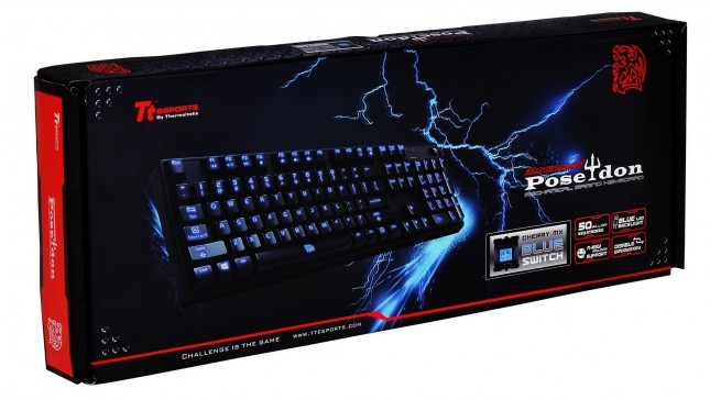 Poseidon Illuminated Mechanical gaming keyboard -Perfect combination of mechanics and aesthetic