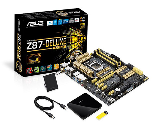 ASUS Z87-Deluxe/Quad Motherboard