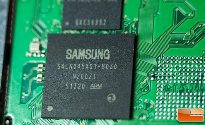 Samsung 840 EVO Controller