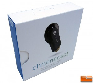 Google Chromecast Retail Box